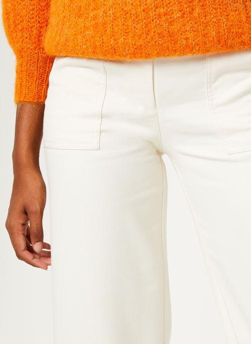 Vêtements Bensimon PANTALON CASPAR Blanc vue face