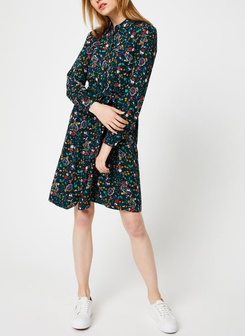 Vêtements Bensimon ROBE CAROLANE Vert vue bas / vue portée sac