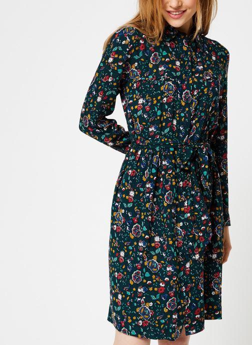 Vêtements Bensimon ROBE CAROLANE Vert vue détail/paire
