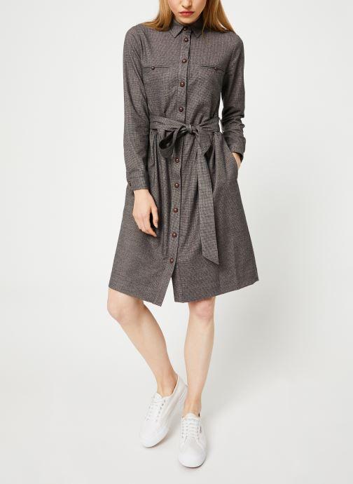 Vêtements Bensimon ROBE CAROLANE Gris vue bas / vue portée sac