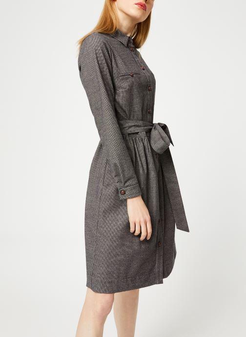 Vêtements Bensimon ROBE CAROLANE Gris vue droite