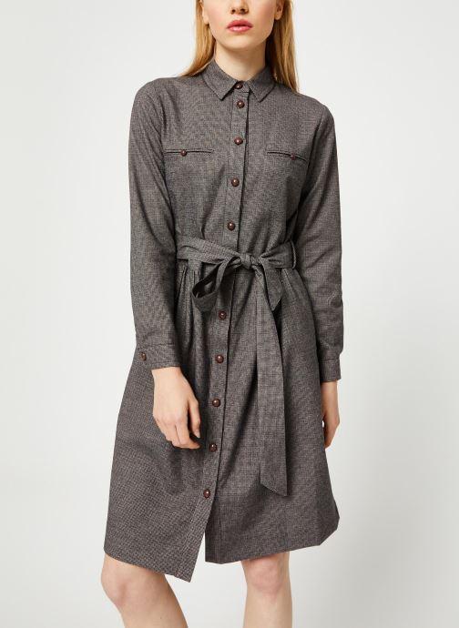 Vêtements Bensimon ROBE CAROLANE Gris vue détail/paire