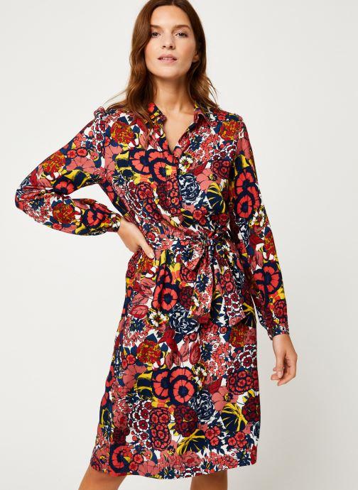 Vêtements Bensimon ROBE CALISTA Rouge vue détail/paire