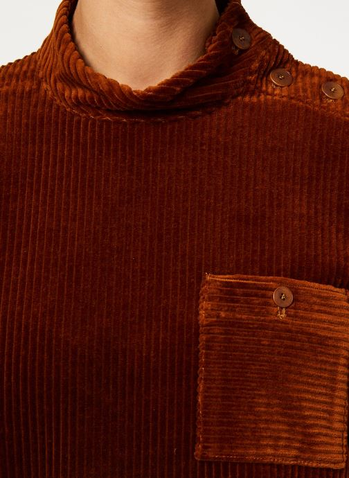 Vêtements Bensimon ROBE ALEN Marron vue face