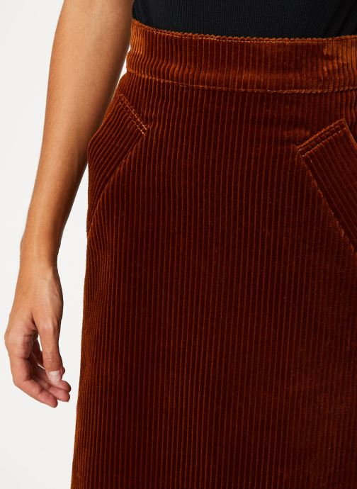 Vêtements Bensimon JUPE CARAMIS Marron vue face