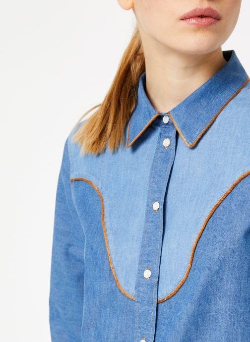 Vêtements Bensimon CHEMISE CLADY Bleu vue face