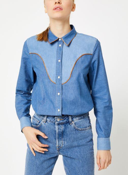 Vêtements Bensimon CHEMISE CLADY Bleu vue droite