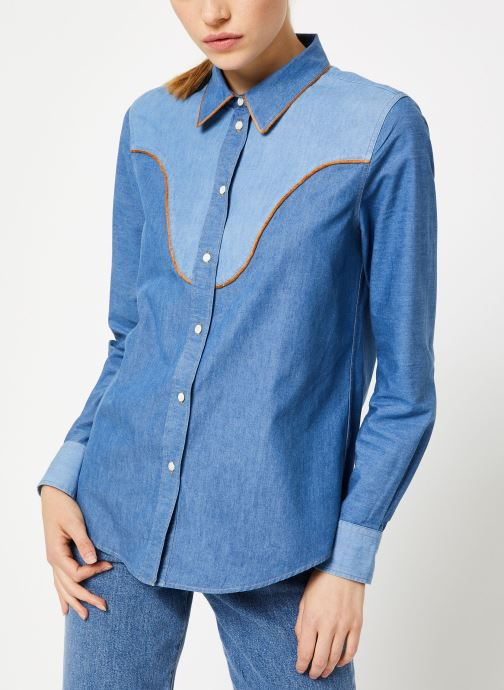 Vêtements Bensimon CHEMISE CLADY Bleu vue détail/paire