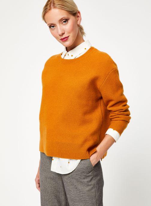 Vêtements Bensimon PULL DESPA Marron vue détail/paire