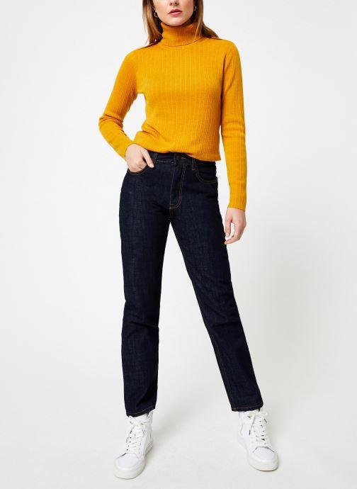 Vêtements Bensimon PULL CLARANCE Jaune vue bas / vue portée sac