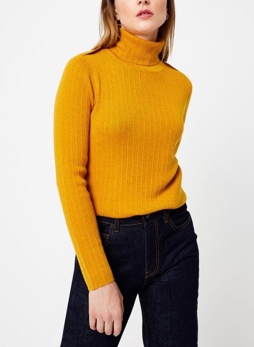 Vêtements Bensimon PULL CLARANCE Jaune vue détail/paire
