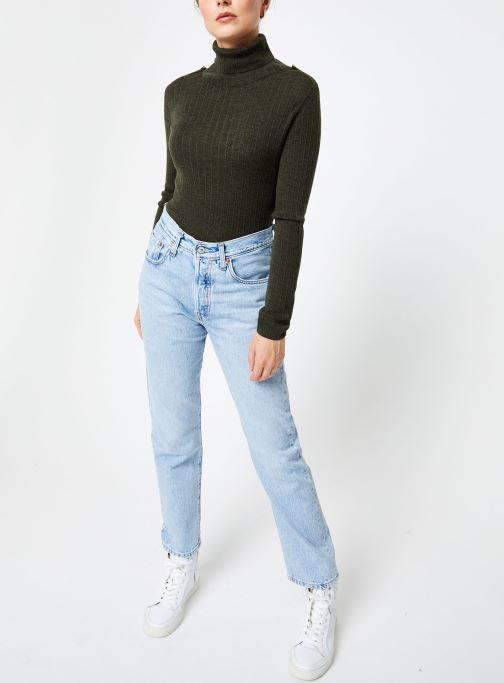 Vêtements Bensimon PULL CLARANCE Vert vue bas / vue portée sac