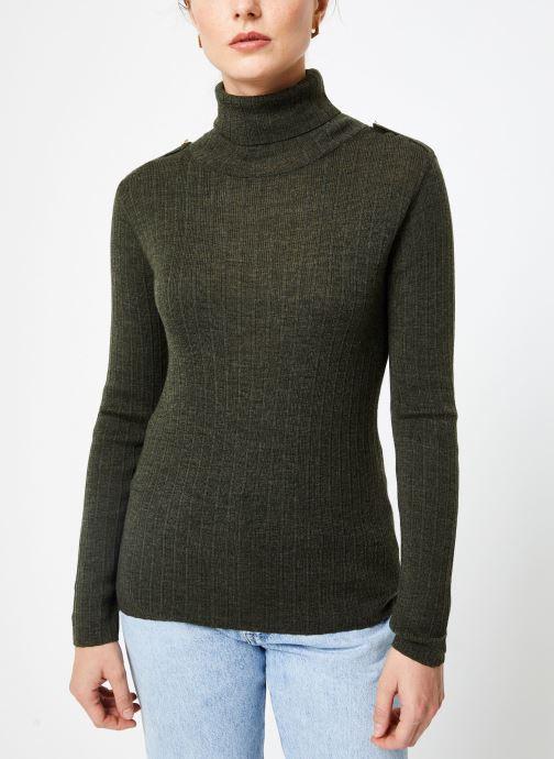 Vêtements Bensimon PULL CLARANCE Vert vue droite
