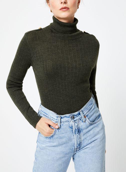 Vêtements Bensimon PULL CLARANCE Vert vue détail/paire
