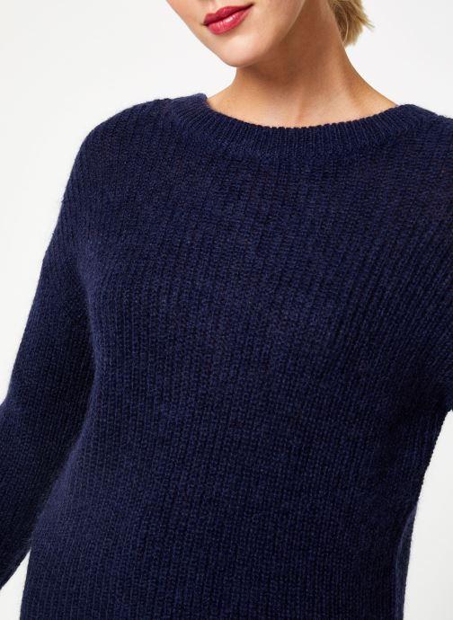 Vêtements Bensimon PULL CALIA Bleu vue face