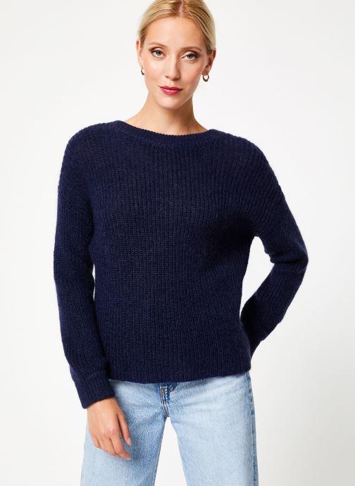 Vêtements Bensimon PULL CALIA Bleu vue droite