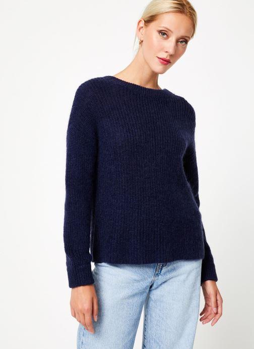 Vêtements Bensimon PULL CALIA Bleu vue détail/paire