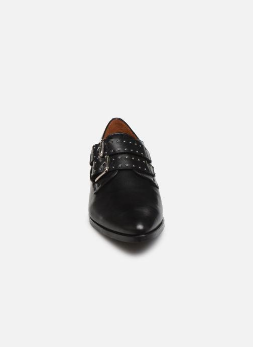 Mocassins Georgia Rose Tacluva Noir vue portées chaussures