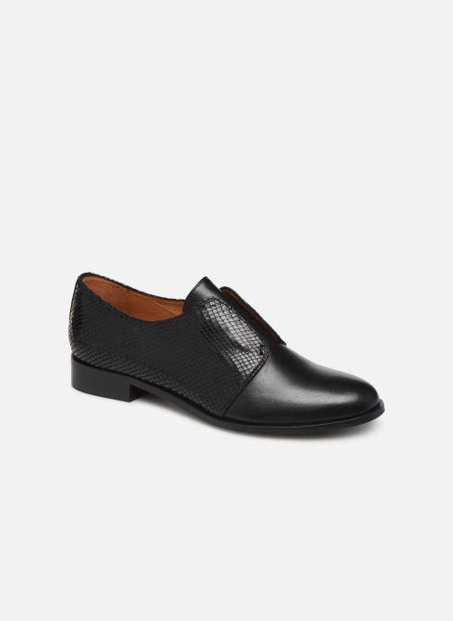 Chaussures à lacets Georgia Rose Tanila Noir vue détail/paire