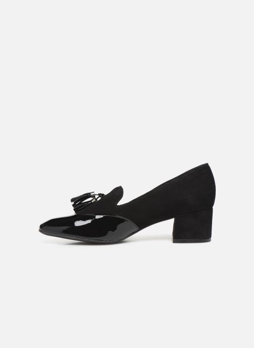 Zapatos de tacón Georgia Rose Trusta Negro vista de frente