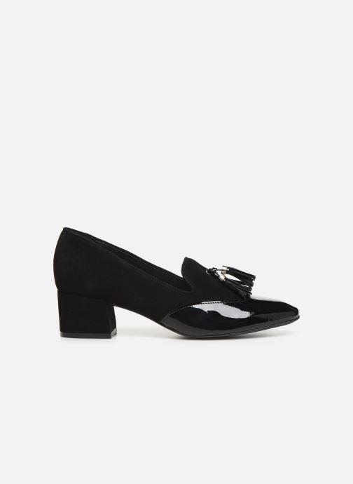 Zapatos de tacón Georgia Rose Trusta Negro vistra trasera
