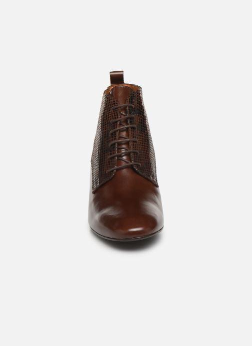 Bottines et boots Georgia Rose Territa Marron vue portées chaussures