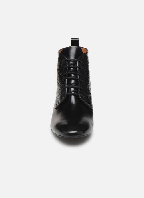 Bottines et boots Georgia Rose Territa Noir vue portées chaussures