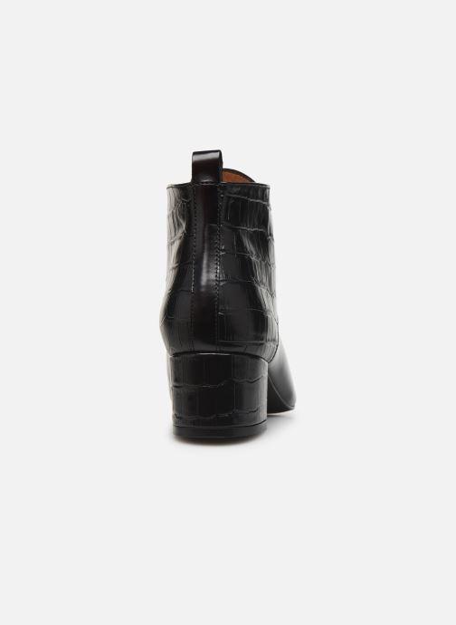 Bottines et boots Georgia Rose Territa Noir vue droite