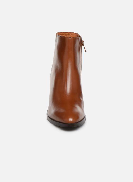 Bottines et boots Georgia Rose Tobia Marron vue portées chaussures