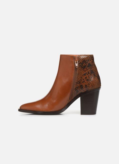 Bottines et boots Georgia Rose Tobia Marron vue face