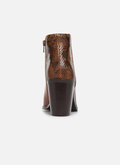 Bottines et boots Georgia Rose Tobia Marron vue droite