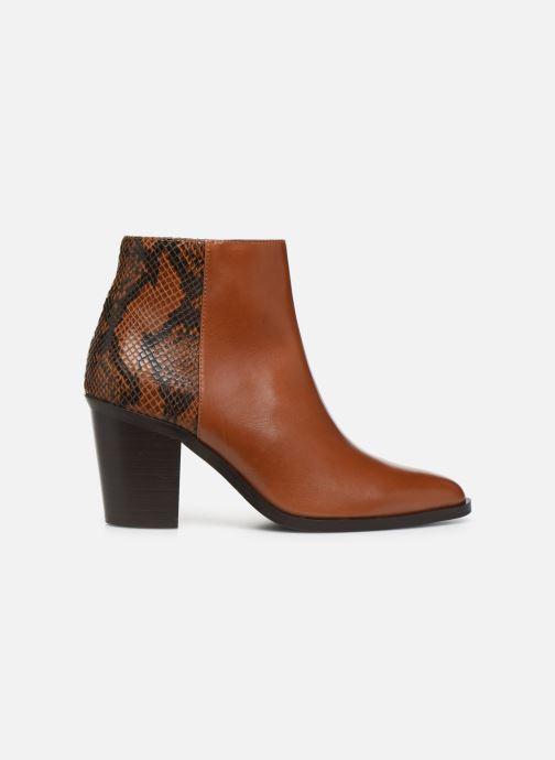 Bottines et boots Georgia Rose Tobia Marron vue derrière