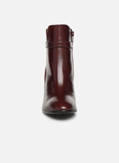 Bottines et boots Georgia Rose Tosca Bordeaux vue portées chaussures