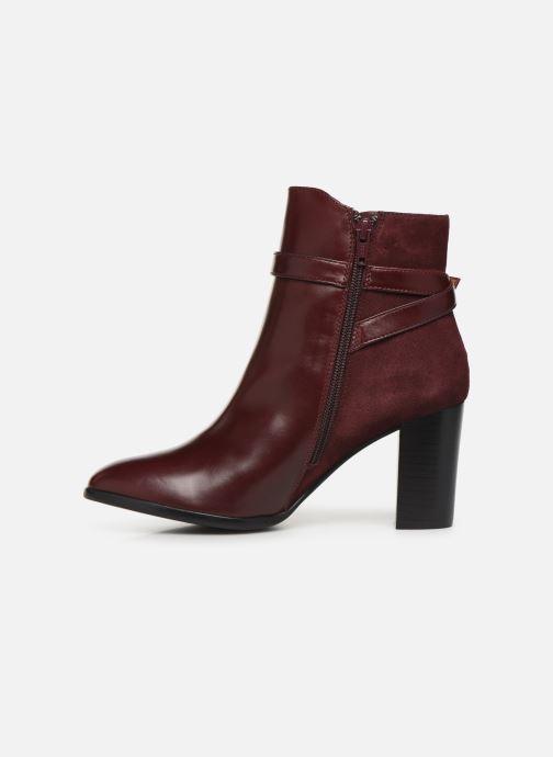 Bottines et boots Georgia Rose Tosca Bordeaux vue face