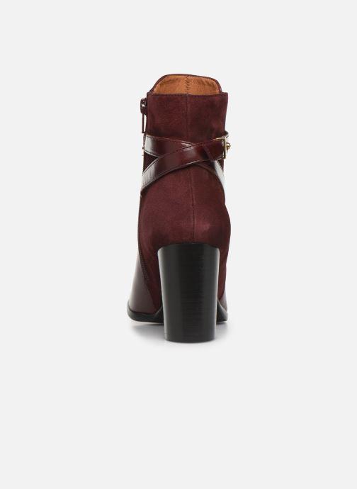 Bottines et boots Georgia Rose Tosca Bordeaux vue droite