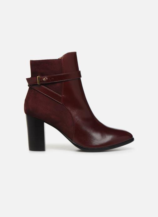 Bottines et boots Georgia Rose Tosca Bordeaux vue derrière