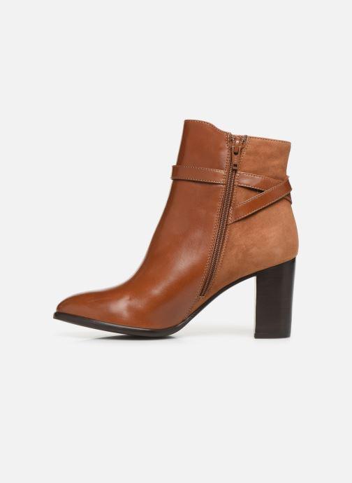 Bottines et boots Georgia Rose Tosca Marron vue face