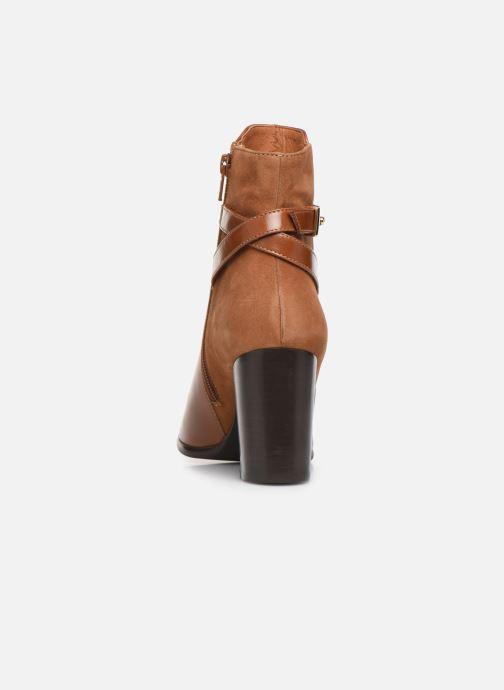 Bottines et boots Georgia Rose Tosca Marron vue droite