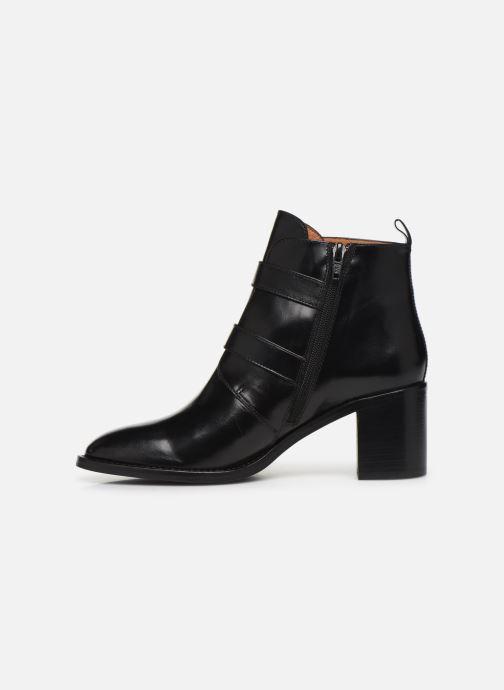 Bottines et boots Georgia Rose Tarocka Noir vue face