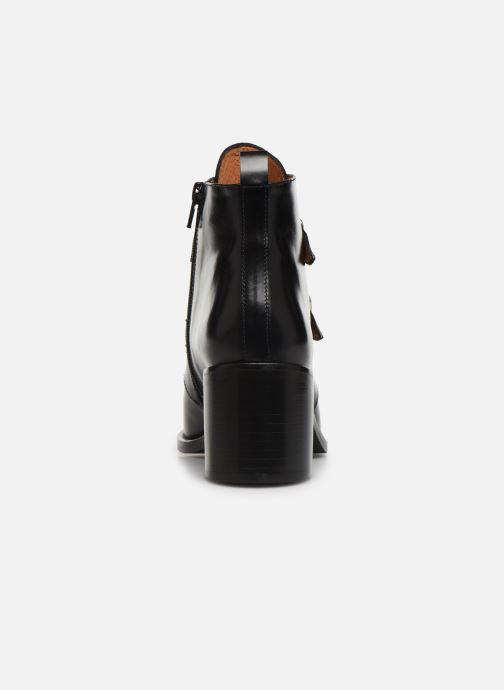 Bottines et boots Georgia Rose Tarocka Noir vue droite