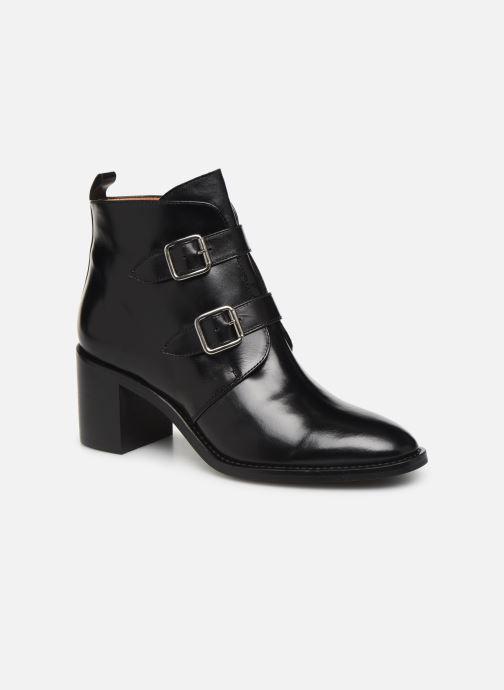 Bottines et boots Georgia Rose Tarocka Noir vue détail/paire