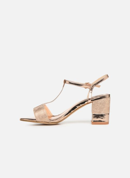 Sandales et nu-pieds Xti 30681 Rose vue face