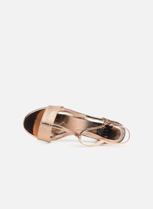 Sandales et nu-pieds Xti 30681 Rose vue gauche
