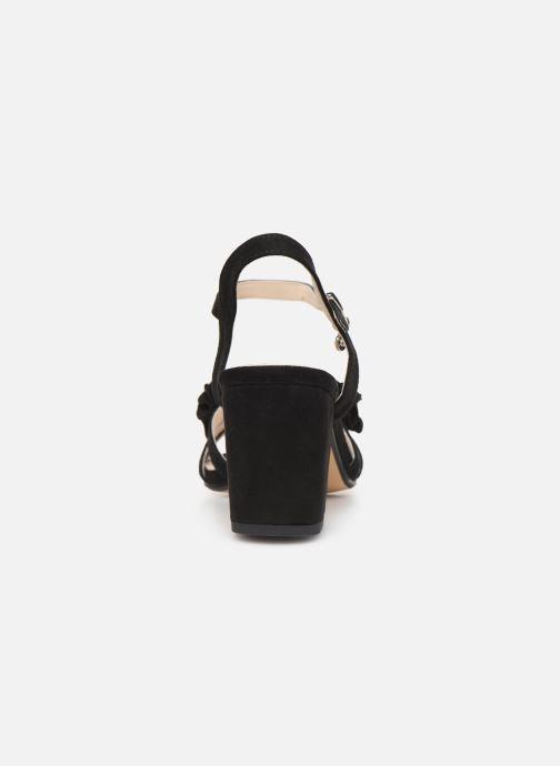 Sandales et nu-pieds Xti 30714 Noir vue droite