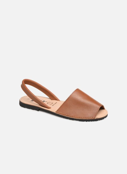 Sandals Xti 34038 Brown detailed view/ Pair view