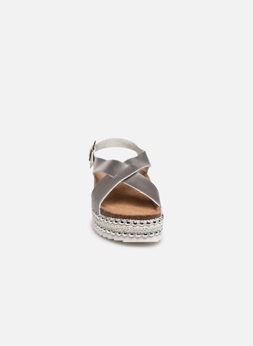 Sandales et nu-pieds Xti 47896 Argent vue portées chaussures