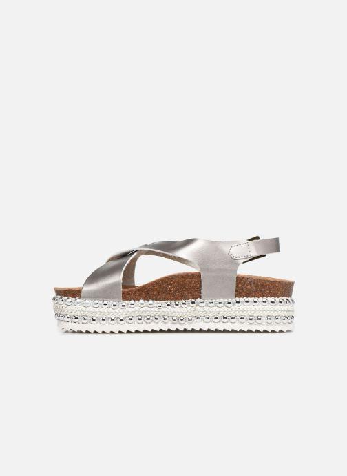 Sandales et nu-pieds Xti 47896 Argent vue face