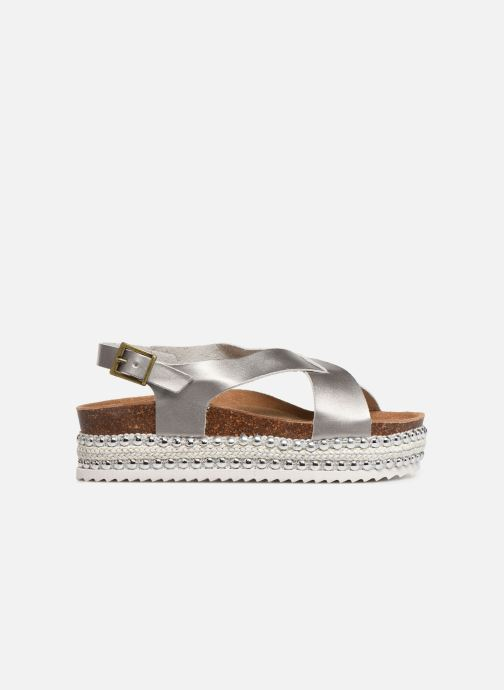 Sandals Xti 47896 Silver back view