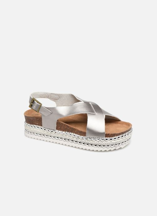 Sandals Xti 47896 Silver detailed view/ Pair view