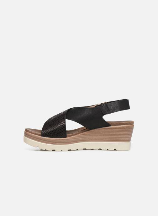 Sandales et nu-pieds Xti 47938 Noir vue face